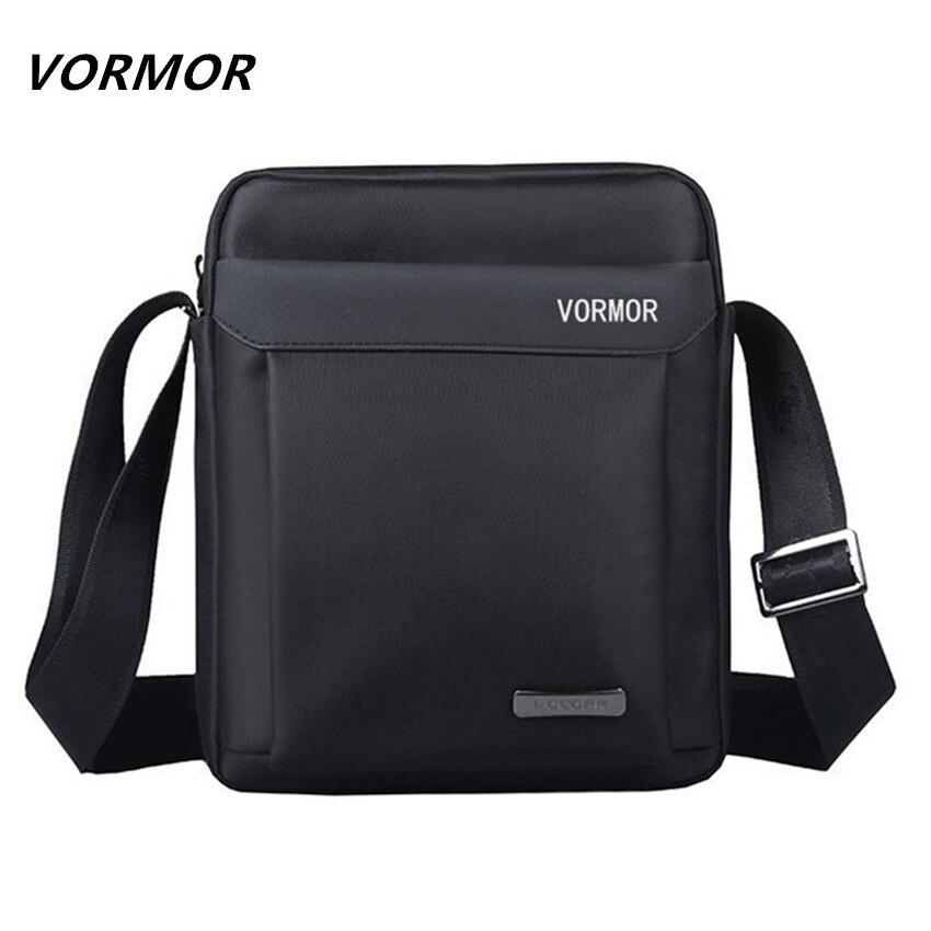 VORMOR Men bag 2017 fashion mens shoulder bags, high quality oxford casual messenger bag business men's travel bags