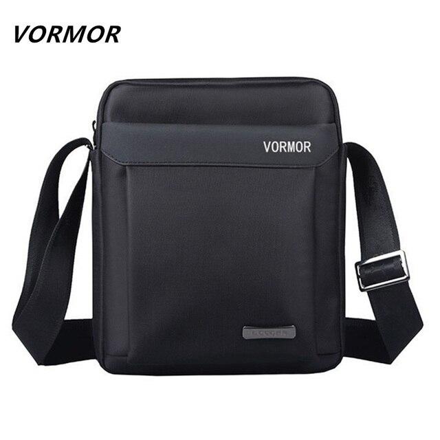 Vormor мужчины сумка 2017 модные мужские сумки на ремне, высокое качество оксфорд повседневная сумка бизнес мужские сумки для путешествий