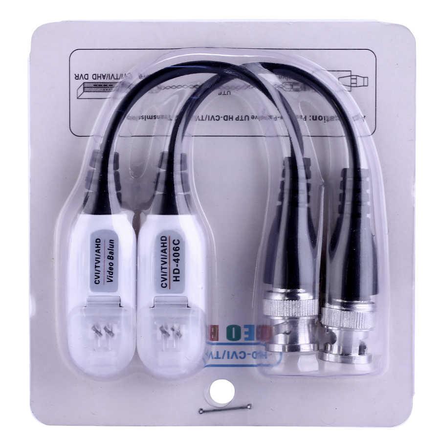 ESCAM HD 720P/1080P CVI/TVI/AHD Passive Video Balun BNC Connector To UTP Cat5/5e/6 Video Balun Passive Transceivers