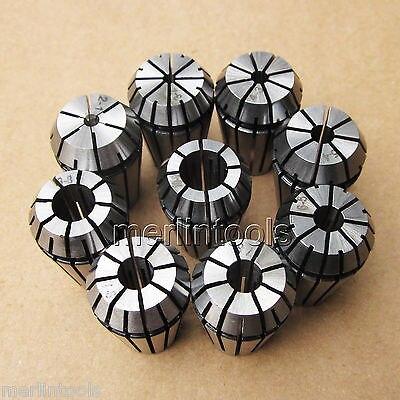9PC ER8 Metric Collet Set9PC ER8 Metric Collet Set