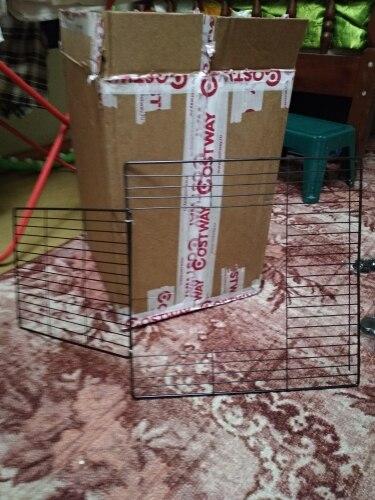 Калитка для кошек вольер ворота Домашние животные фитинг для собак двери клетка с манежем продукты безопасности ворота поставки для кролич...