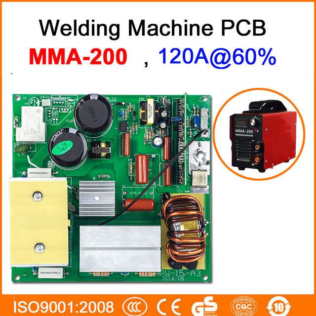 цена на AC220V welding machine circuit board single plate only MMA 200 BEST SALES