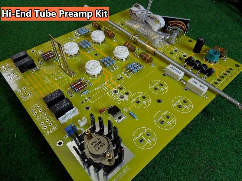 DIY PCB High-end Tube Microphone Preamp