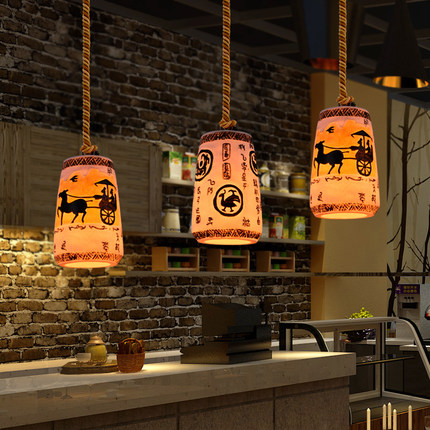 Retro Loft Style Creative Resin Droplight LED Vintage Pendant Light Fixtures Dining Room Hanging Lamp Indoor Lighting nordic resin retro loft style industrial lighting vintage pendant lamp fixtures dinning room led hanging light lamparas