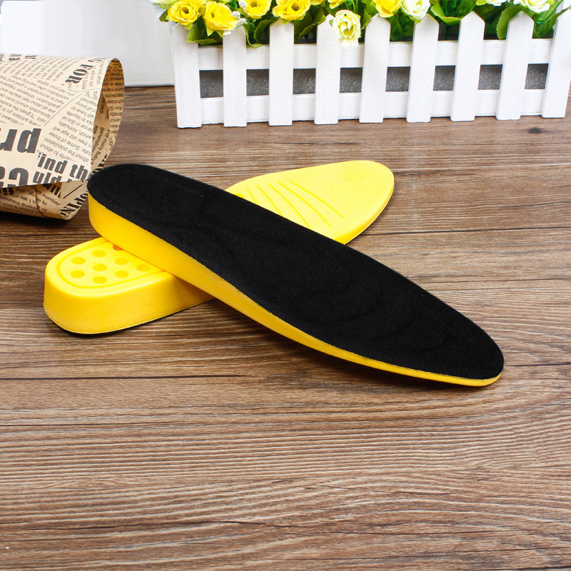 Height Increase Insole High Quality Shock Absorbant Insoles For Shoes Comfortable Sweat Absorbant Foot Pads Massage Insole XD-56 expfoot orthotic arch support shoe pad orthopedic insoles pu insoles for shoes breathable foot pads massage sport insole 045