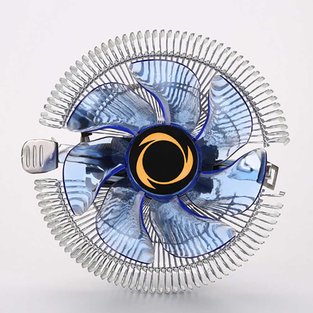 CPU Đèn LED Xanh Quạt Tản Nhiệt CPU Tản Nhiệt Quạt Tản Nhiệt Cho CPU Intel LGA775/1156/1155 I3/ i5/I7 AMD AM2/AM2 +/AM3 Cho AM4 Ryzen