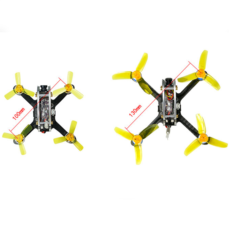 100/130 PNP FPV Racer Drone Mini Brushless Quadcopter interior PIKO ...