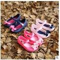 Primavera sapatos de bebê e verão bebés meninas sandálias princesa sapatos meninas sapatos de borracha crianças botas de borracha frete grátis