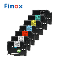 Fimax 7pcs TZe231 TZe 231 12mm for Brother P touch Label Tape TZe131 TZe 231 TZe431 TZe631 P touch Label Maker,Printer Ribbons