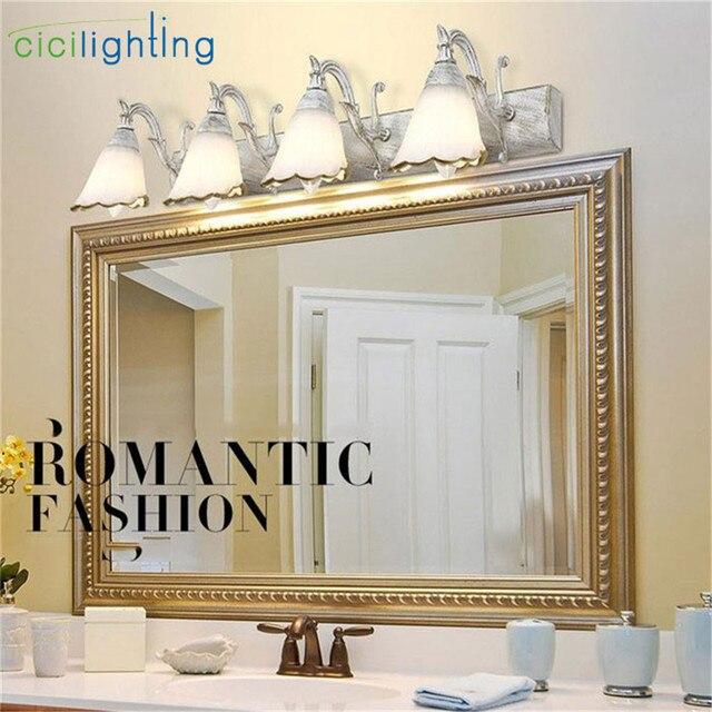 L16 30 46 64cm New Vintage E14 Wall Lamp Bathroom Lighting Mirror Light