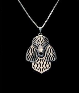 Уникальное колье ручной работы в стиле бохо, шикарное ожерелье пуделя, подарок для любителей животных, ювелирное ожерелье-12 шт./лот (2 вида цв...