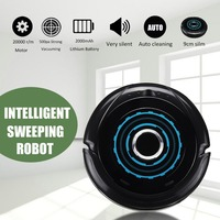 500Pa 2200mAh Fully Automatic Ultra Thin Mute Vacuum Cleaner To Sweep The One Piece Machine USB