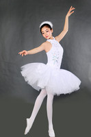 2017 Adult Professional Tutu Ballet Costumes White Camisole Leotard Professional Adult Swan Lake Ballet Tutu Nutcracker