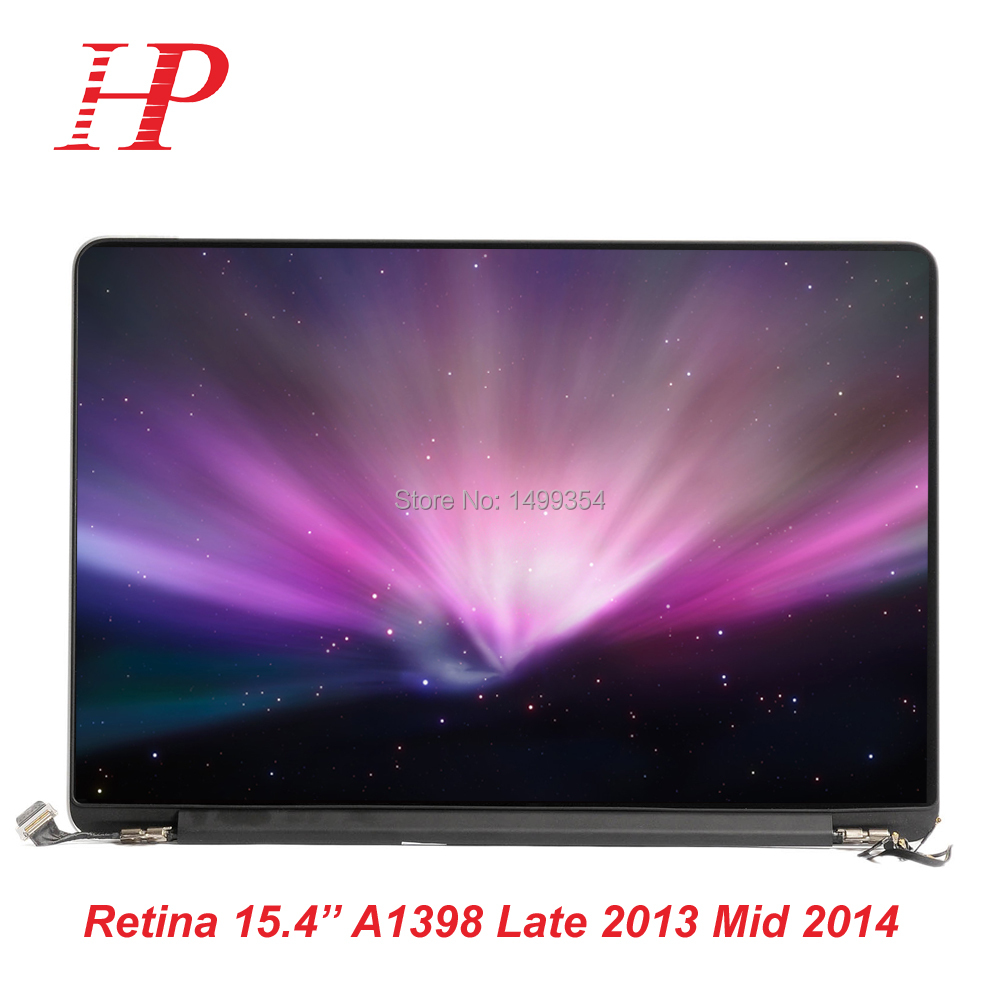 Genuine Used Late 2013 Mid-2014 A1398 LCD LED Screen For Macbook Pro 15Retina A1398 LCD Screen Assembly 2880x1800