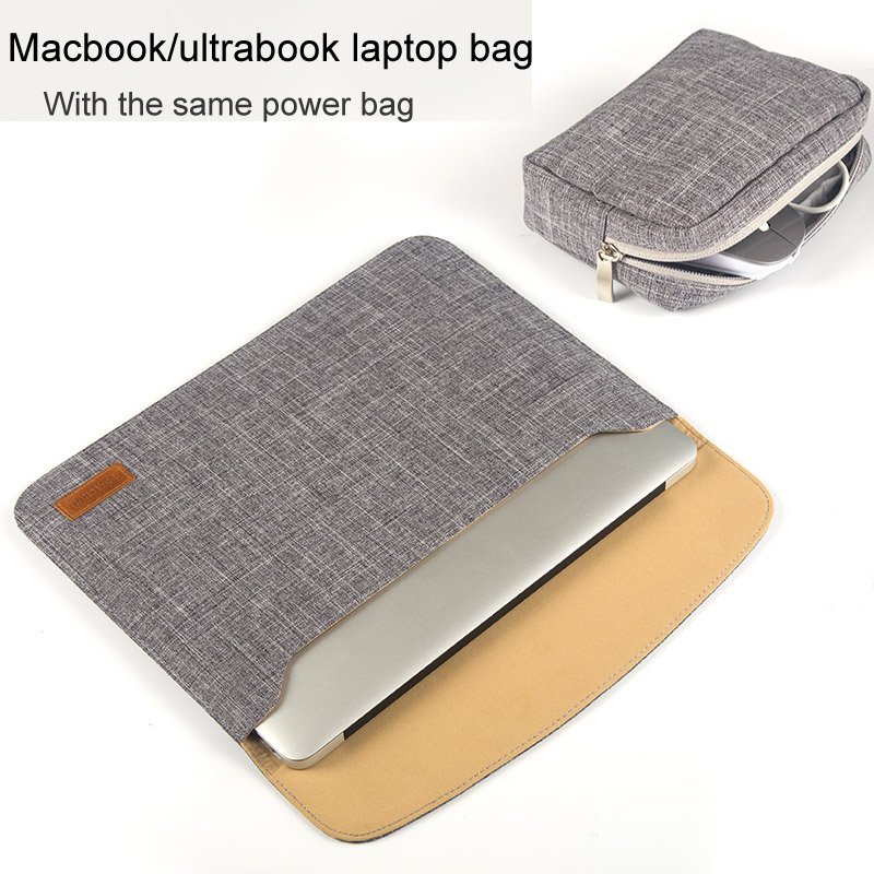 Laptop bag for Macbook Air 13 laptop case for Macbook pro 13 laptop sleeve 13 14 15.6 inch for Dell ASUS hp Notebook laptop tas new laptop bag for macbook pro air 13 case 11 12 13 15 15 6 laptop shoulder bag for asus acer dell hp 14 inch laptop sleeve