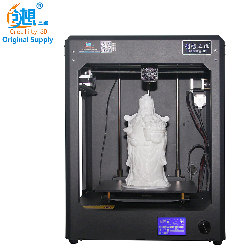 High Precision CREALITY 3D CR-5 Full Assembled 3D Printer Large Printing Size Industrial-grade PCB Mainboard with Filaments Free tronxy 3d printer mega full metal frame colorful industrial grade high precision affordble diy kit software