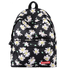 Brand New Student Bookbags Floral Printed Backpack Bags Large Capacity Travel Daypack Fashion Canvas Shoulder Mochila