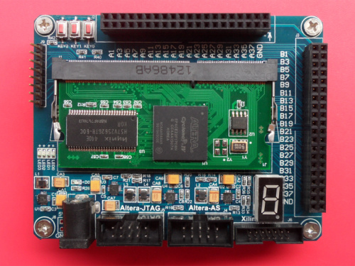 Xilinx Development Board Spartan6 XC6SLX16 Core Board FPGA Development Board DDR3 Interface Containing Floor