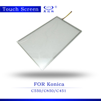 Copier Spare Parts 1PCS Touch Screen for Konica Minolta C550 C650 C451 C550 C650 C451 Photocopier Machine Touch Screen Panel