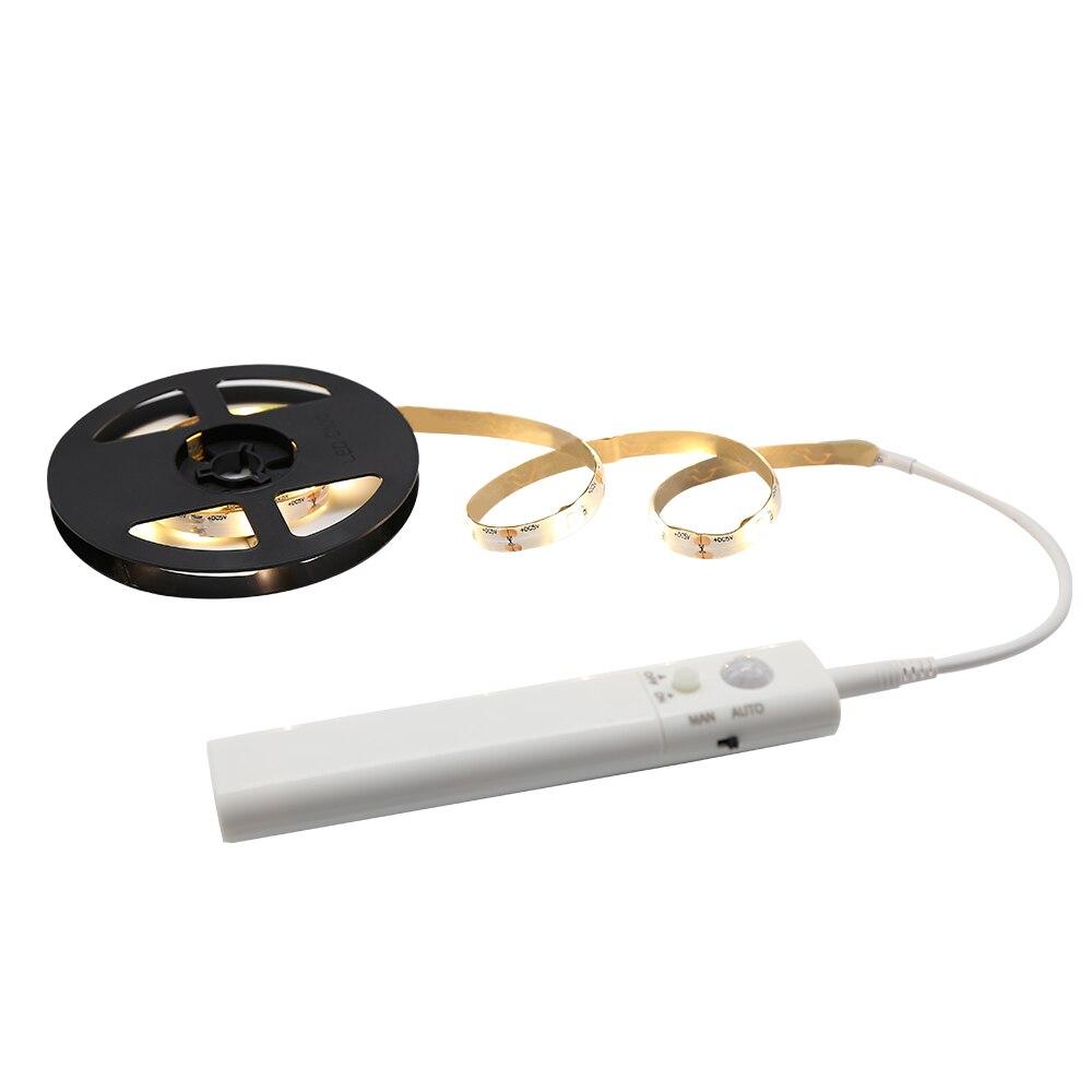 2018 Nieuwe Primium Led Motion Sensor Strip Inductie Meubels Nachtlampje Lamp Warm Wit Verlichting Voor Thuis Decoratie Gediversifieerde Nieuwste Ontwerpen