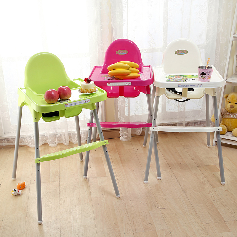 Baby High Chairs Feeding Table Baby Dining Chair Adjustable The Height 0-6 Years Feeding Seats