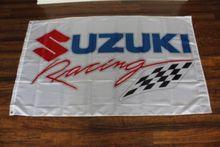 New Suzuki Racing Team High Quality Flag 3x5FT Custom flag Drop Shipping