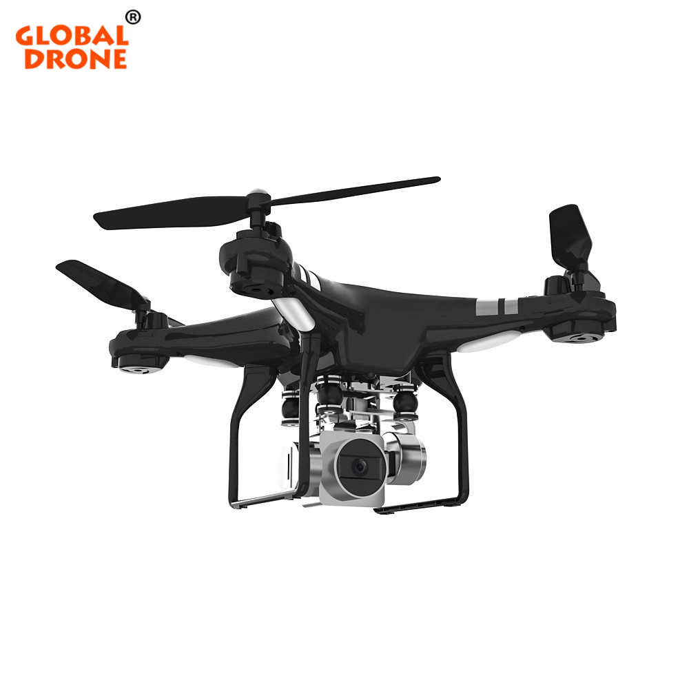 Global Drone GW X2 RC Drones with Camera HD 5MP Wide Angle 1080P 2 4G 4CH