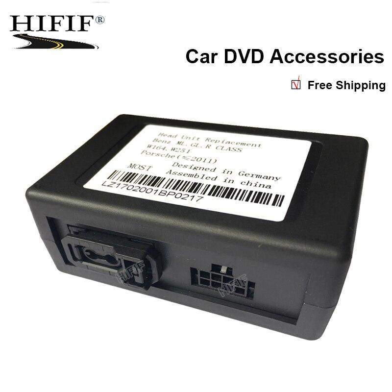 Optical fiber decoder/canbus for Mercedes Benz ML/R Series; For Porsche Cayenne SeriesOptical fiber decoder/canbus for Mercedes Benz ML/R Series; For Porsche Cayenne Series