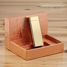 Arcสร้างสรรค์โลหะUSBบุหรี่อิเล็กทรอนิกส์เบาที่มีกล่องของขวัญ