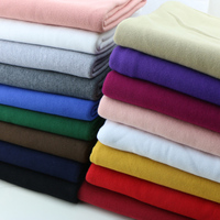 Silk Fabric Thickening David Garment Terry Cloth Autumn/winter Sports Casual Wear Knitted Fabrics Of Large Scales To Keep Warm