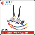 NiceRF- 2pcs/lot SV651 433MHz TTL Interface wireless transceiver module kit