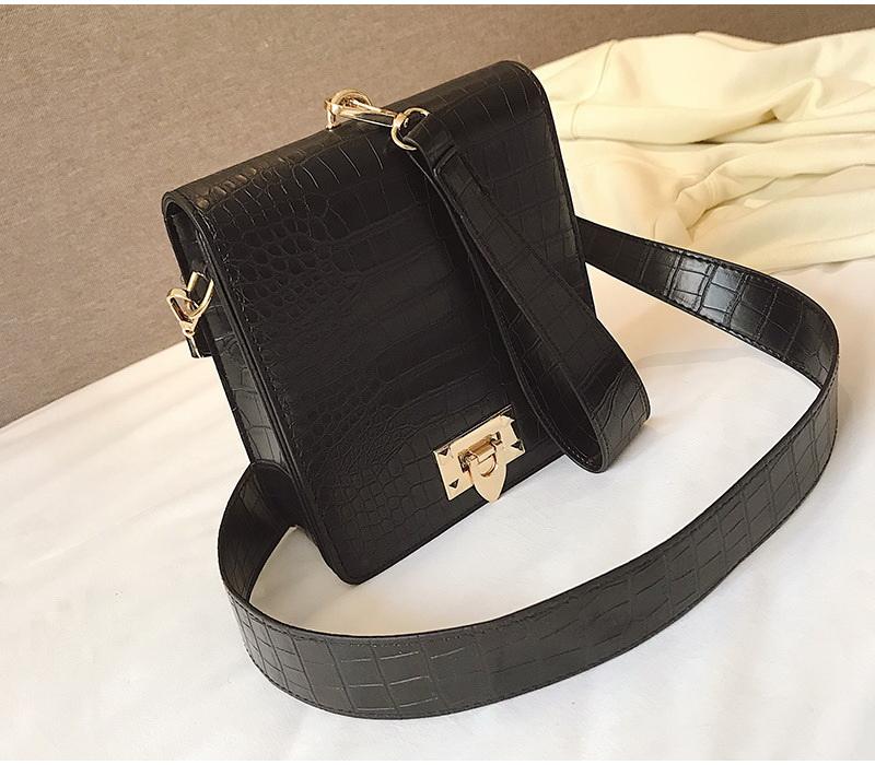 DIINOVIVO Fashion Alligator Female Handbags Designer Crossbody Bags for Women Small Square Bag Shoulder Messenger Purse WHDV0917 17