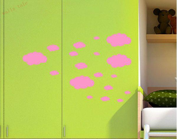 HTB1heZhMpXXXXbWXXXXq6xXFXXXz - Mini Clouds wall sticker for kids room