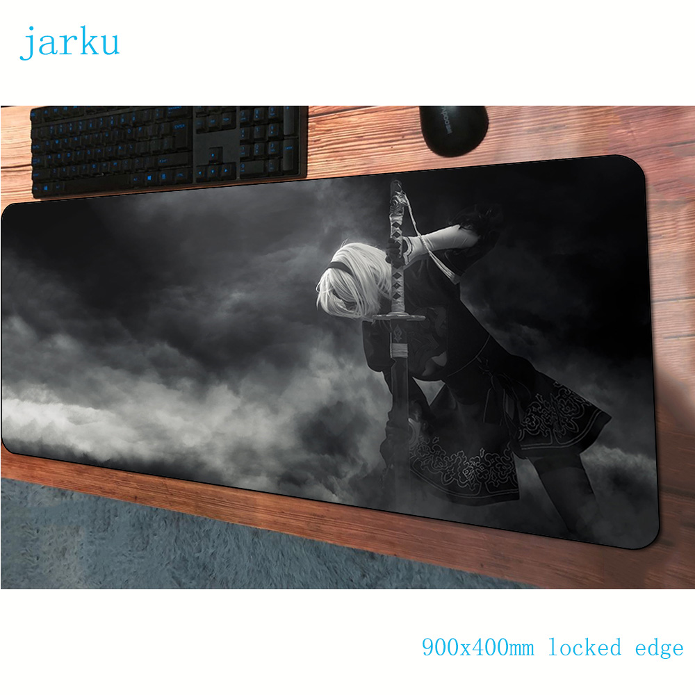 nier <font><b>padmouse</b></font> <font><b>900x400x3mm</b></font> gaming mousepad game pc large mouse pad gamer computer desk desk mat notbook mousema image