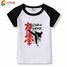 393d81cf07ada LYTLM Bébé Garçon Enfants Occasionnels Garçons Vêtements Garçons T-shirt  Kyokushin Karaté T Chemises Enfants Vêtements Filles 8 .
