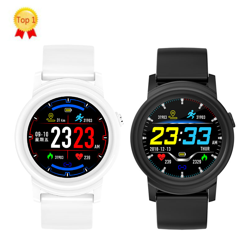 Fashion <font><b>Smart</b></font> <font><b>Watch</b></font> Full <font><b>Round</b></font> Screen <font><b>Display</b></font> Blood Pressure Heart Rate Monitor <font><b>Smart</b></font> Health Fitness Tracker Men Wom Smartwatch image