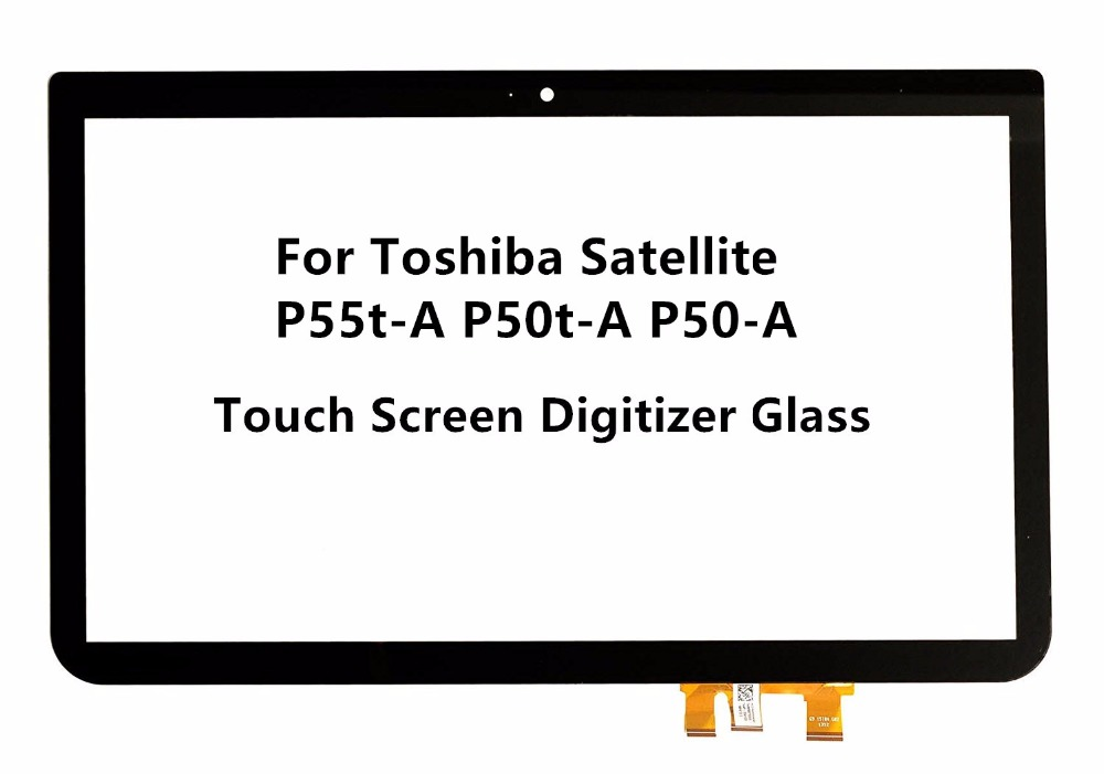 For Toshiba Satellite P55T-A5118 P55t-A5116 P55t-A5202 P55T-A5200 P55t-A5312 P50t-A121 10U P50t-A01C 01N Touch glass screen new laptop for toshiba satellite p55t a5202 p55t a5118 lcd back top cover fit touchscreen a shell