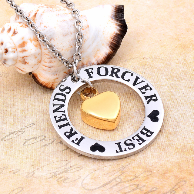 Best Friends Forever Urn Necklace