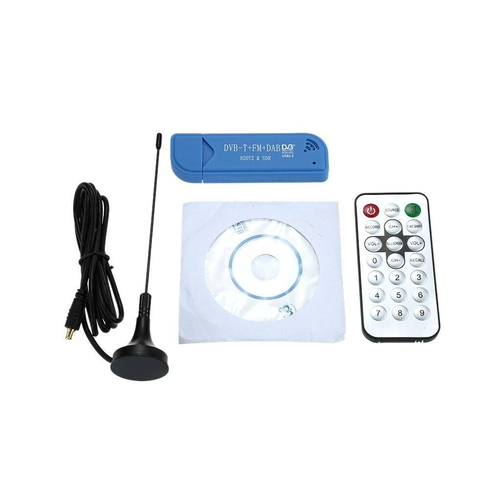 USB2 0 DAB FM DVB T RTL2832U R820T2 SDR RTL SDR Dongle Stick