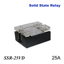 25A SSR,input DC 0-10V single phase ssr solid state relay voltage regulator стоимость