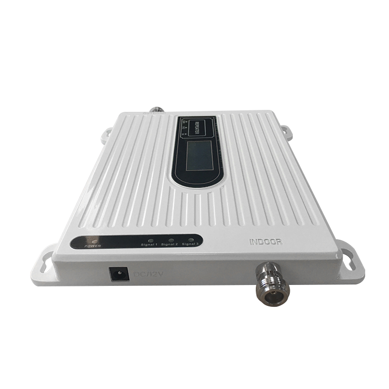 Unit 900 1800 2100 mhz Tri-Band 2G 3G 4G Mobile Signal Booster GSM DCS LTE WCDMA UMTS Cellphone Repeater Amplifier