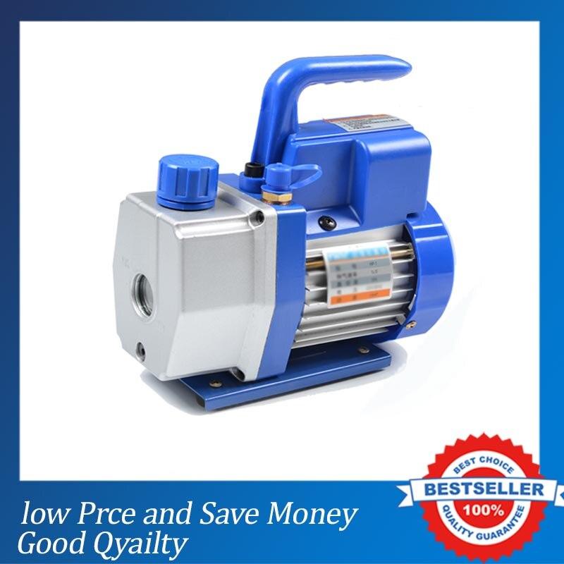 все цены на 130W Mini Refrigerant Vacuum Pump for Air Conditioning 1L 220V/50HZ Ultimate Air Suction онлайн