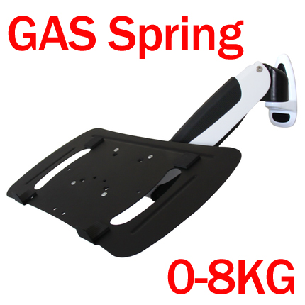 DL-GW111-LP 10-15.6 air press gas strut 0-8kg with laptop TRAY desktop stand full motion notebook table support pad mountDL-GW111-LP 10-15.6 air press gas strut 0-8kg with laptop TRAY desktop stand full motion notebook table support pad mount
