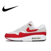 Nike AIR MAX 1 ANNIVERSARY Original Authentic Mens Running Shoes Sport Outdoor Sneakers Walking Jogging Low Top 908375 103