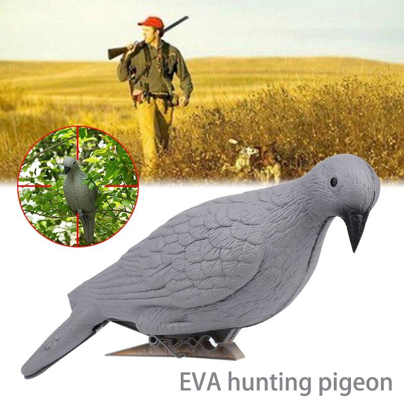 3D охотничья приманка Dove EVA серая поддельная птица стрельба Dove Decoy Декор ловушка охотничья приманка для дерева двор для вредителей на открытом воздухе