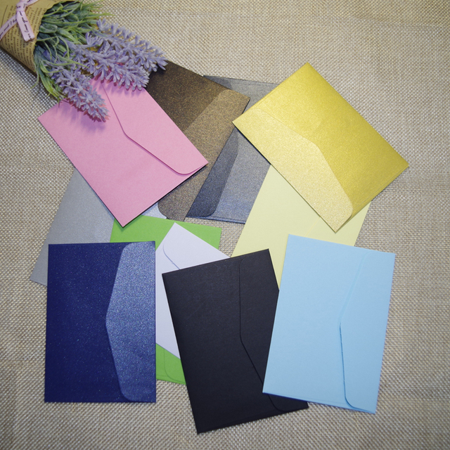 100pcs in 10x7cm colorful mini kraft envelope business vip card 100pcs in 10x7cm colorful mini kraft envelope business vip card small wedding party invitation card reheart Gallery
