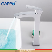 GAPPO Tall basin faucets White Bathroom sink faucet water mixer Waterfall Faucet taps Deck Mounted Bath tap torneira do anheiro недорого
