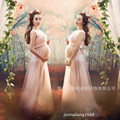 Women Pink Skirt Maternity Photography Props Elegant Pregnancy Clothes Maternity Dresses For pregnant Photo Shoot Clothing