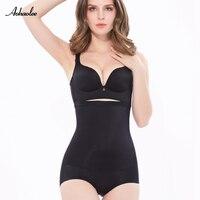 Sıcak satış kontrol külot yüksek bel kontrolü body shaper underwear şekillendirici külot zayıflama karın knickers külot kadın shapewear