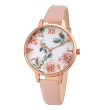Корпус из розового золота леди часы для девочек часы розы Циферблат розовый ремень модные женские часы Повседневная дизайнерская relogios femininos